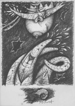 Hostina koprofágů - kresba2